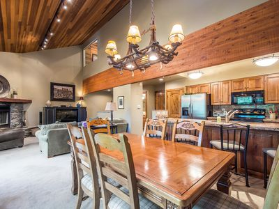 Photo for Walk to Deer Valley! Updated 3BR w loft, sleeps 8-9.  Two King Masters!