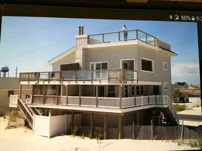Photo for 4-story Ocean Front Home with direct access to the beach. Fun fun fun!!!!