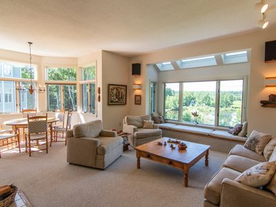 Photo for Spacious, Lake View Condo Near Tanglewood in the Heart of the Berkshires!