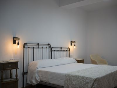 Photo for Stately house S. XIX in Monfragüe double bed room 1
