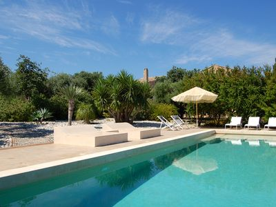 Photo for Enchanting restored countryhouse.Superb views,fabolous garden and a great pool. Just 10 minutes from Cefalù