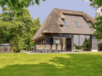 Photo for Tranquil Farmhouse in Rijsbergen with Hot Tub and Garden