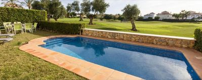 Photo for Close to 1st tee & clubhouse, private pool with uninterupted golf course views