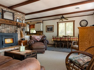 Photo for Wknds 2 nts w/3rd FREE 3.5 bedroom Lake Home 2 Fireplaces  Wi-Fi Slps 1-12