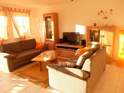Photo for 'Holiday feeling ...' - 70m² spacious and modern Ferienwohnng for 6 people