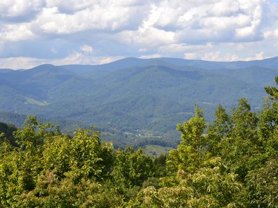 Photo for Enjoy great mountain views from Hibernation Station in Mountain Air, Burnsville, NC!