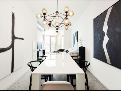 Photo for Designer Decorated Luxury Loft in Downtown East Toronto