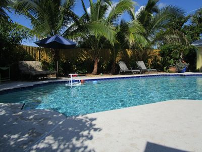 Photo for Coconut Cottage - Pet Friendly, 3/2, Pool, Boat Slip on Manatee Pocket