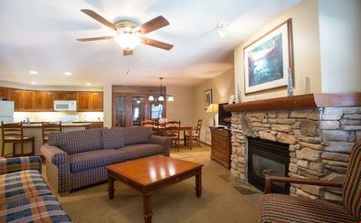 Photo for Powderhorn Lodge 1 Bedroom + Den Deluxe at Solitude Mountain Resort