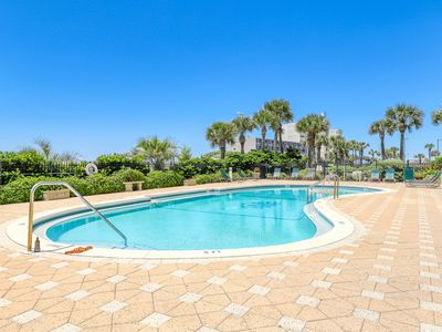 Photo for Luxury condo w/ incredible Gulf view, wrap-around deck & shared pool