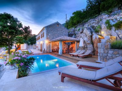 Photo for Beautiful villa with private pool in Kvarner