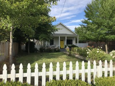 Photo for Main Street Napa Cottage, Winter Deal, $3000 / mo! Walk to restaurants, shops!
