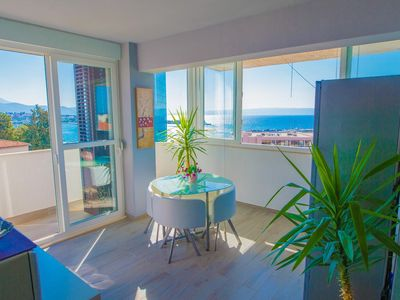 Photo for One bedroom apartment with balcony and sea view Split