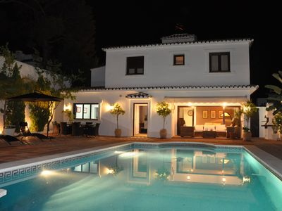 Photo for Villa with heated pool perfect spot to enjoy a memorable family vacation