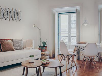 Photo for Historical Gem 3 apartment in Baixa/Chiado with air conditioning.
