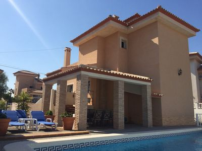 Photo for Detached Villa With Private Pool And Stunning Views