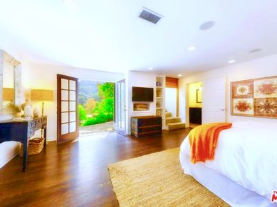 Photo for **NEW: LUXURIOUS HOLLYWOOD HILLS OASIS + SPA / JACUZZI / STEAM