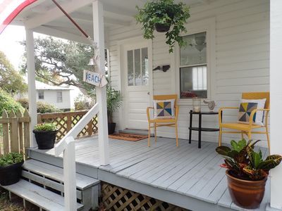 Photo for Historical guest house featured on HGTV's Beachfront Bargain Hunt Renovation!