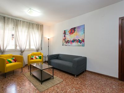 Photo for Apartment in Barcelona with Internet, Air conditioning, Lift, Terrace (1031049)