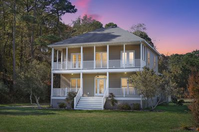 Blue Heron is an inspiring Vacation Home only minutes from Chincoteague Island.