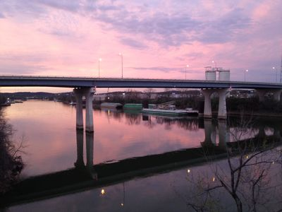 Photo for Downtown - Peaceful. Cozy. Pool. Best River View And Only Minutes To The Action