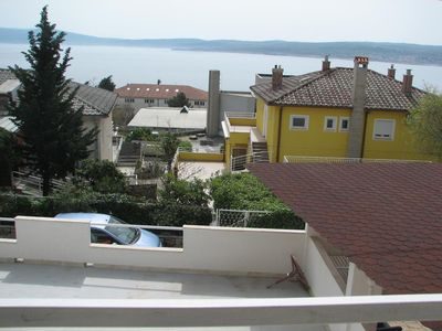Photo for Two bedroom apartment with balcony and sea view Crikvenica