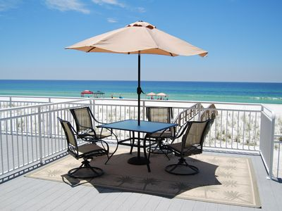 Photo for GORGEOUS 4 BR GULF FRONT TOWNHOME ON PENSACOLA BEACH