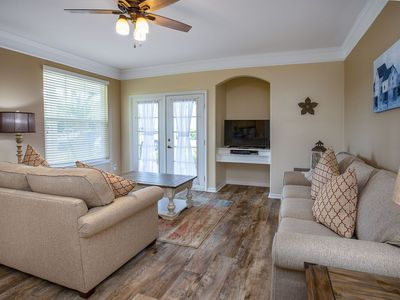 Photo for Water view with patio, 2 Bed/ 2 Bath , remodeled 1st level villa