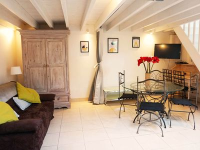 Photo for Duplex Deauville center 2 / 5people in charming residence, private terrace