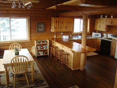 Photo for Secluded Cabin on Wooded Acreage is Recreationalist's Paradise