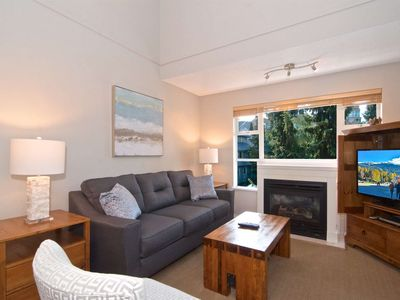 Photo for Newly UPDATED TOP FLOOR with LOFT - Base of BLACKCOMB Mountain; SUPERB Location