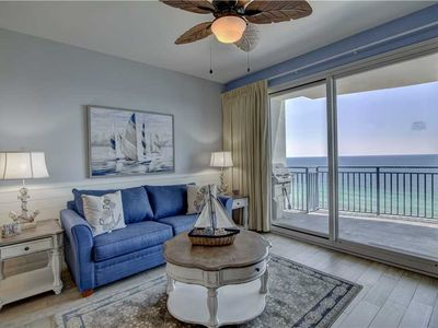 Photo for Luxury at it's finest - Two Bedroom, Upscale, Nautical and Beachy - Breathtaking View