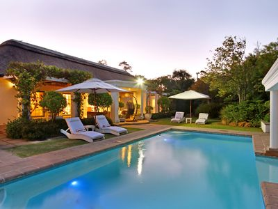Photo for Very Exclusive Upmarket Self Catering Villa with a pristine garden