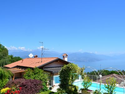 Photo for Detached villa with garden and private pool with breathtaking views
