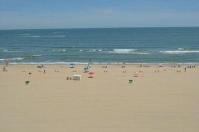 Beach view from Private balcony