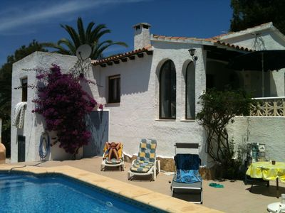 Photo for Detached holiday home with private pool
