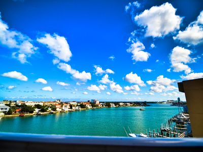 Photo for Harborview Grande 407 New Listing - 4th Floor Condo with Clearwater Harbor View