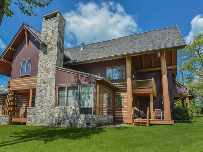 Photo for Stunning 4 Bedroom Ski In/ Ski Out home with upscale amenitites!