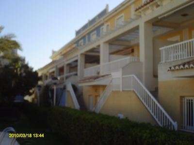 Photo for For families only: Townhouse in the residential L'Ullal II -Playa de Gandía