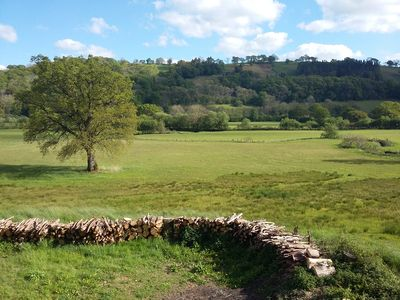 With stunning views of the Aeron Valley