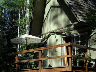 Photo for Getaway In The Woods - Peaceful, Beautiful Setting Near Sandpoint Dog's Welcome