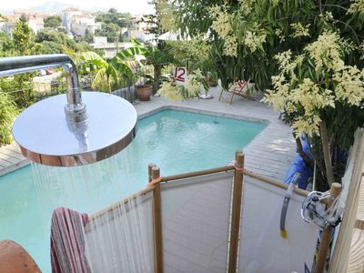 Photo for Magnificent house in Roucas Blanc with swimming pool near the beach of the prophets