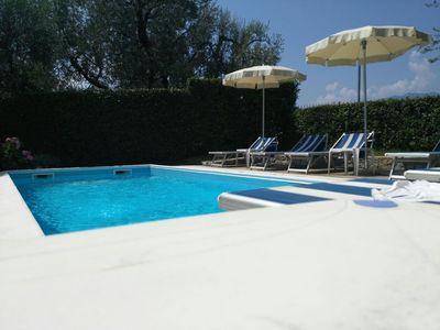 Photo for Malcesine holiday house with pool - from € 245 per week Low Season