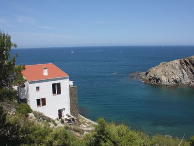 Photo for Large villa with exceptional Sea views and the feet in the Marine Reserve.
