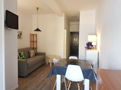 Photo for 1 studio for 4 persons, (32 m2), with a balcony with view on the mountain and at 10mts  to