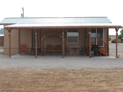 Photo for One bedroom efficiency, with covered porch