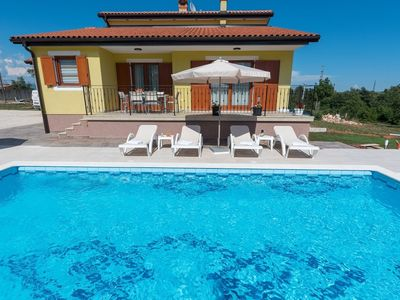 Photo for Apartment in the center of Nedešćina with Internet, Pool, Air conditioning, Parking (689865)