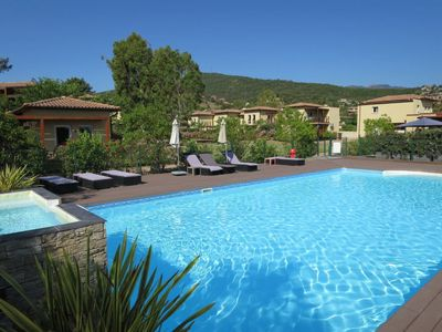 Photo for Favone Apartment, Sleeps 4 with Pool, Air Con and Free WiFi