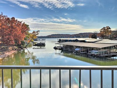 Photo for NEW! Lake Ozark Condo - Pool, Fishing Docks & More