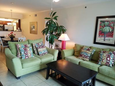 Photo for Waterscape Beach Condo/Lazy River/Pools/Video Games(XBOX360)/Free Beach Service